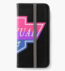 Identity Badge: Bisexual iPhone Wallet/Case/Skin