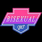 Identity Badge: Bisexual by artemiscreates