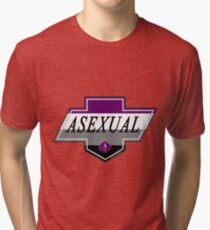 Identity Badge: Asexual Tri-blend T-Shirt