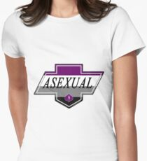 Identity Badge: Asexual Fitted T-Shirt