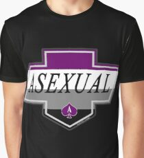 Identity Badge: Asexual Graphic T-Shirt