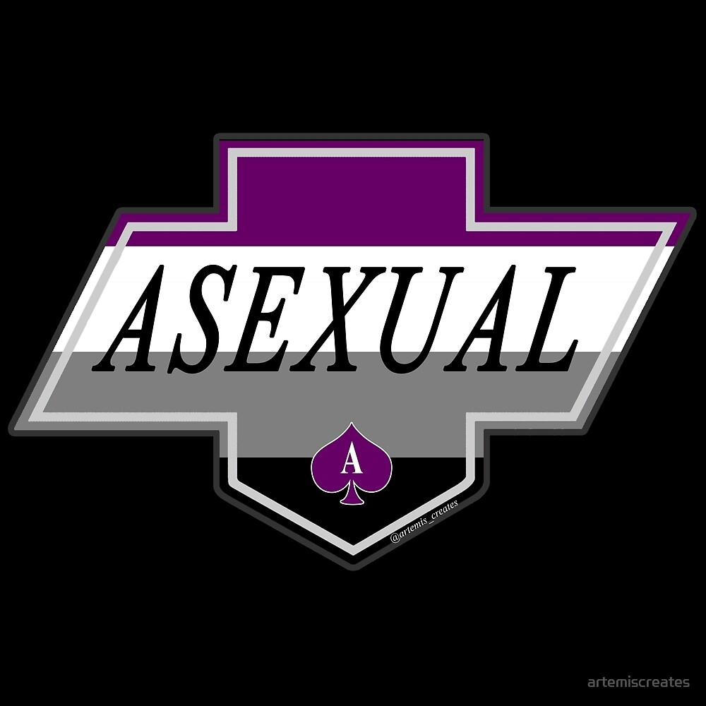 Identity Badge: Asexual by artemiscreates