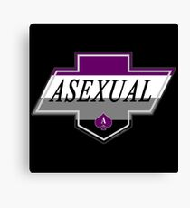 Identity Badge: Asexual Canvas Print