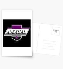 Identity Badge: Asexual Postcards