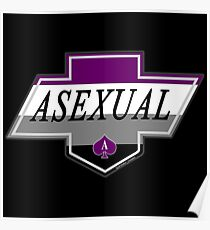 Identity Badge: Asexual Poster
