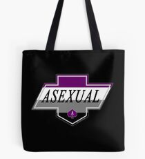 Identity Badge: Asexual Tote Bag
