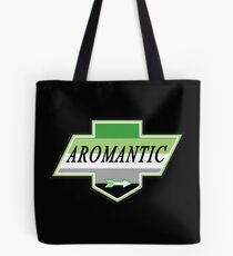 Identity Badge: Aromantic Tote Bag
