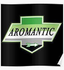 Identity Badge: Aromantic Poster