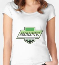 Identity Badge: Aromantic Fitted Scoop T-Shirt