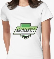 Identity Badge: Aromantic Fitted T-Shirt