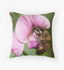 Interdependent  Throw Pillow
