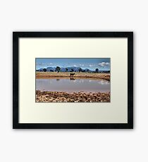 Capertee Billabong - NSW Australia Framed Print