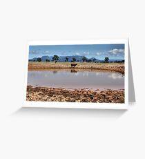 Capertee Billabong - NSW Australia Greeting Card