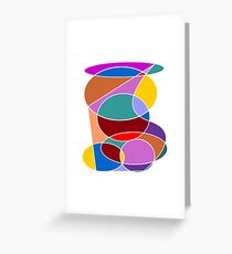 Abstract #24 Greeting Card