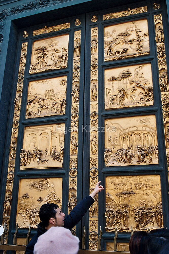 Golden Duomo Doors by Ryan Kleczka