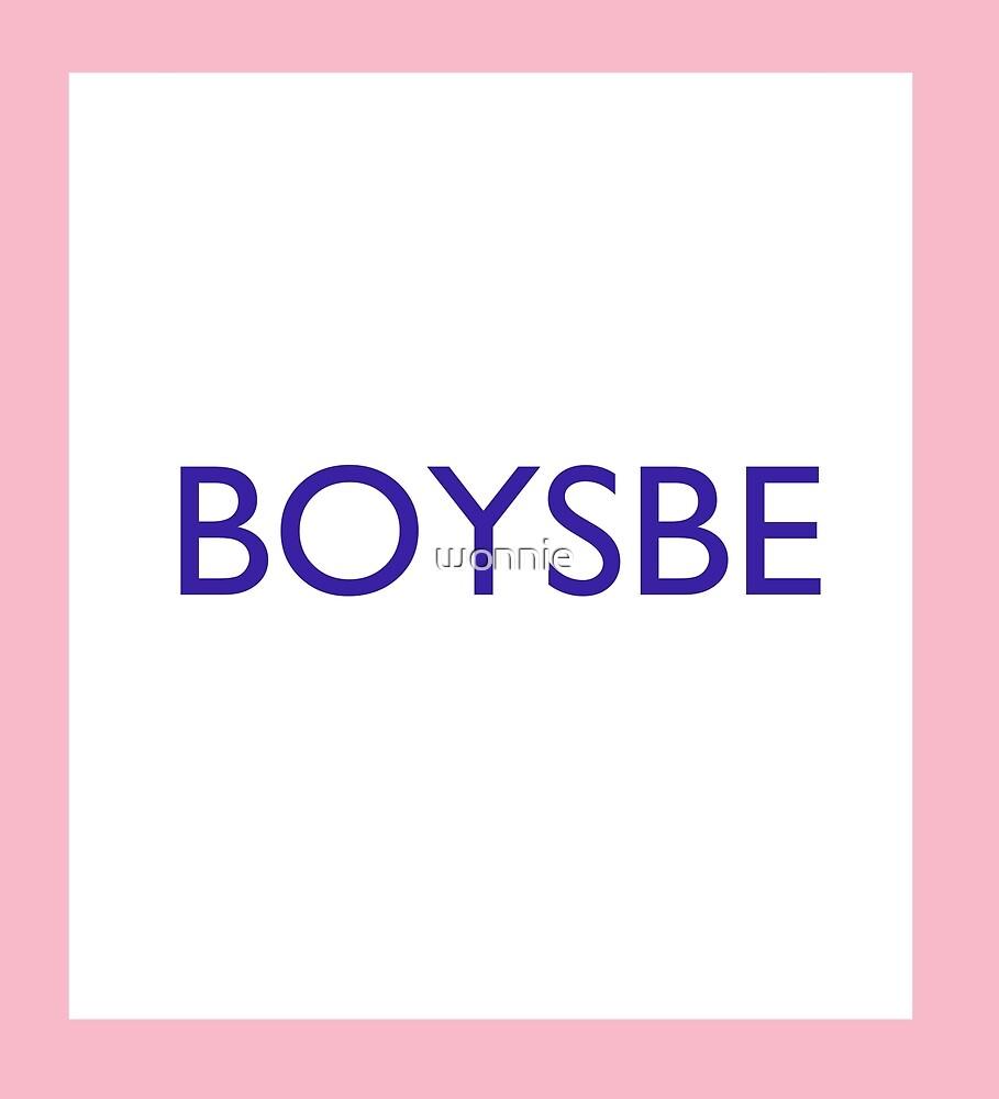Seventeen Boysbe Pink by wonnie