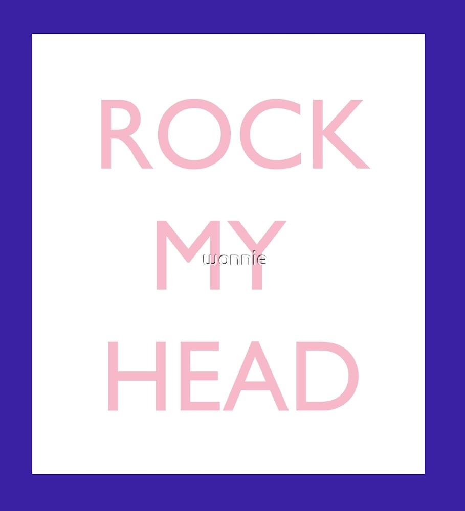 Seventeen Rock My Head Blue by wonnie