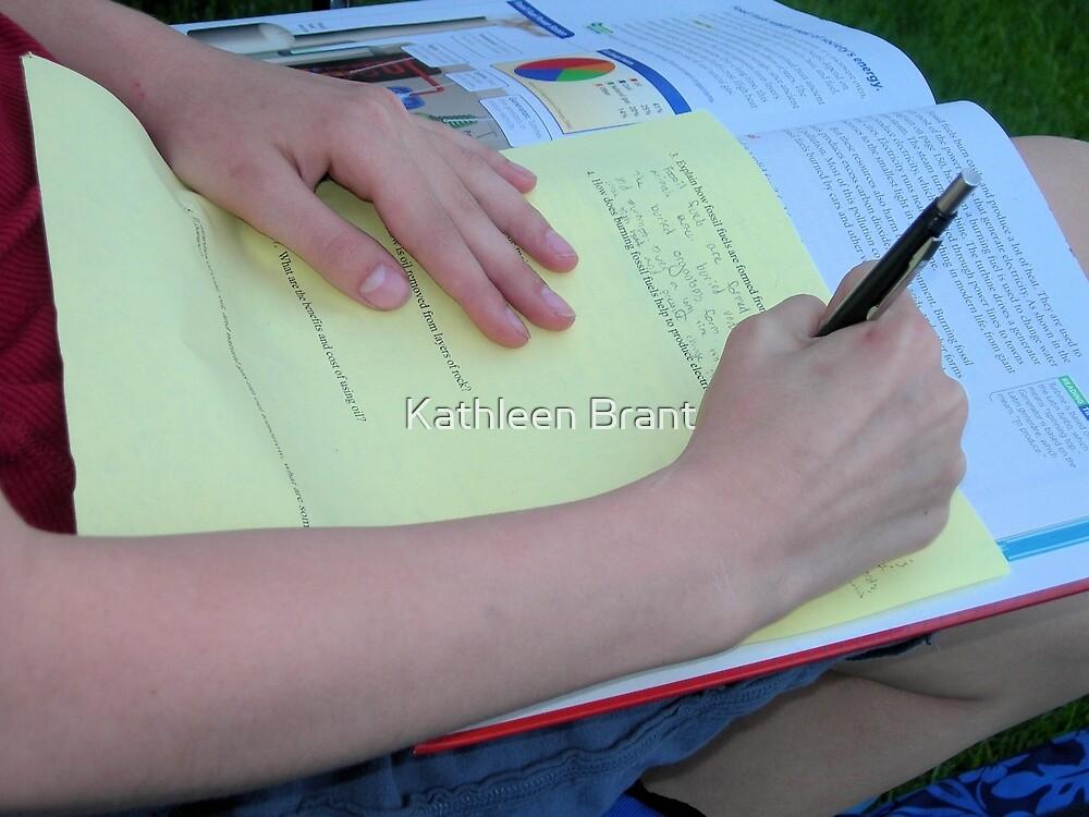 Science Homework by Kathleen Brant