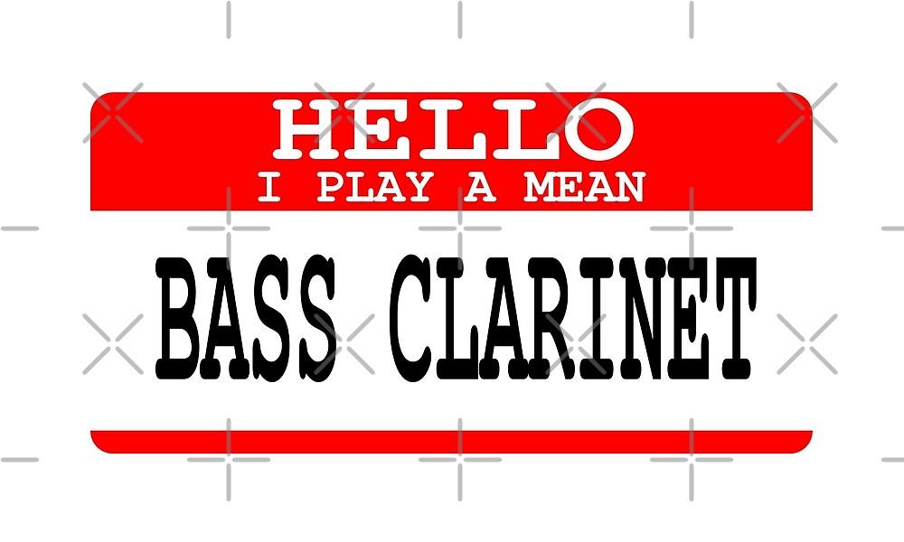 Bass Clarinet by greatshirts