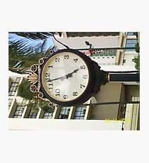 5 a clock somewhere Photographic Print