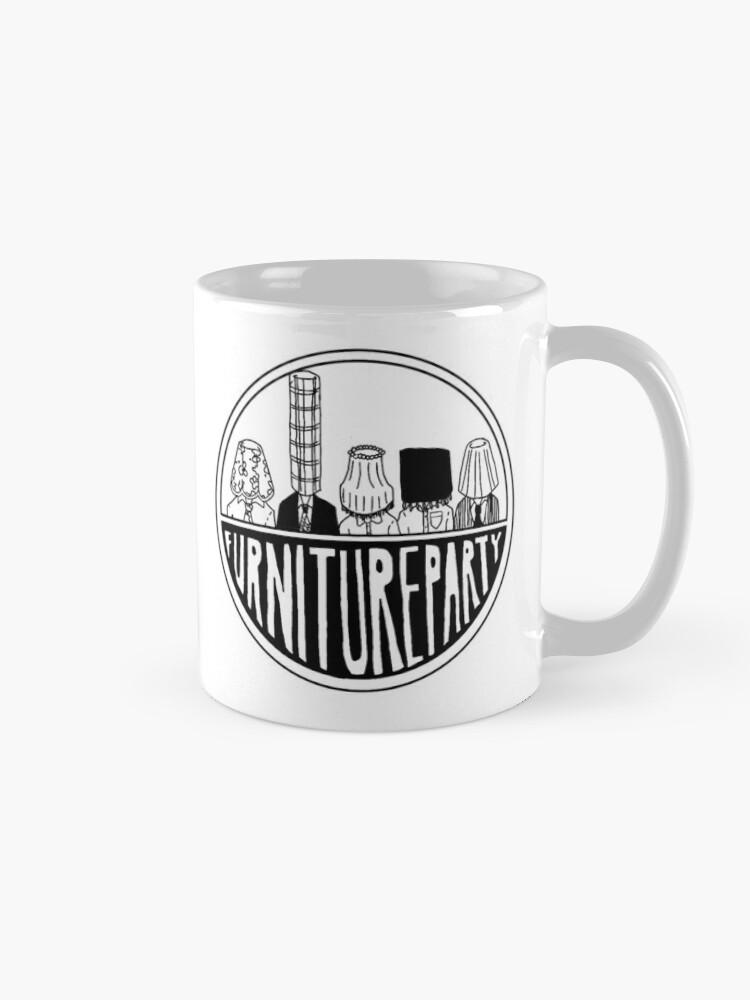 Alternate view of Furniture Party Band Logo Mug