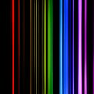 Vertical Rainbow Bars by technoqueer