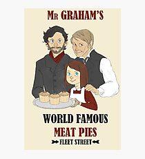 MR. GRAHAM'S MEAT PIES Photographic Print
