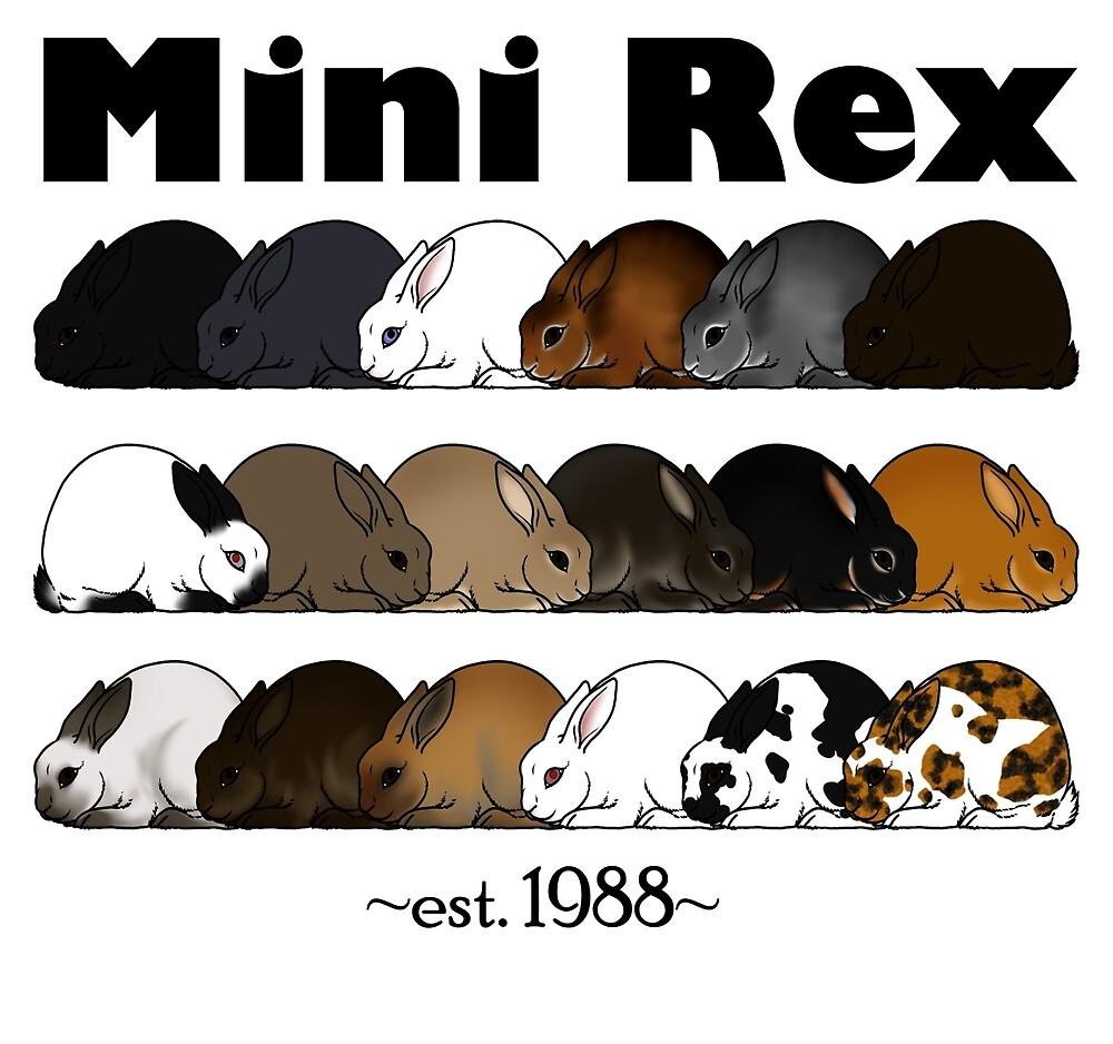 Mini Rex Varieties by Kyle Lawrence