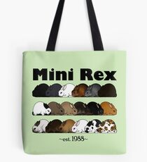 Mini Rex Varieties Tote Bag