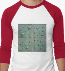 Droplets on the tiles (T-Shirt & iPhone case) Men's Baseball ¾ T-Shirt