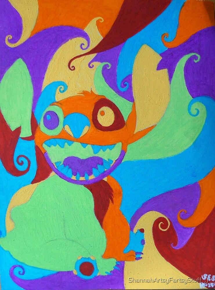 Psychedelic Stitch, Man by tiger1oo