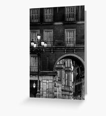 Plaza Mayor - Madrid Greeting Card