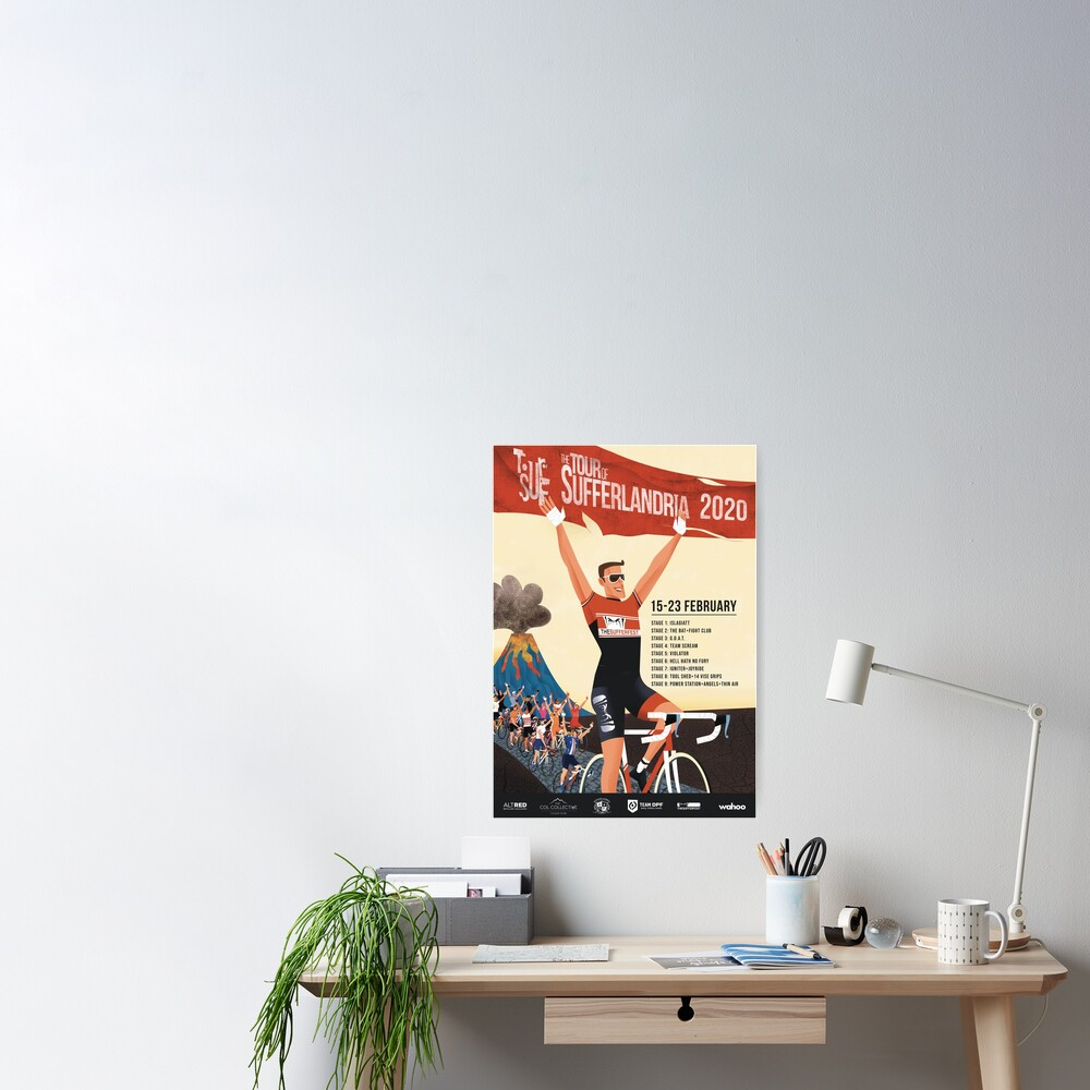 Tour of Sufferlandria 2020 Poster
