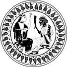 Archaic Dionysos and Ariadne  by DionysianArtist
