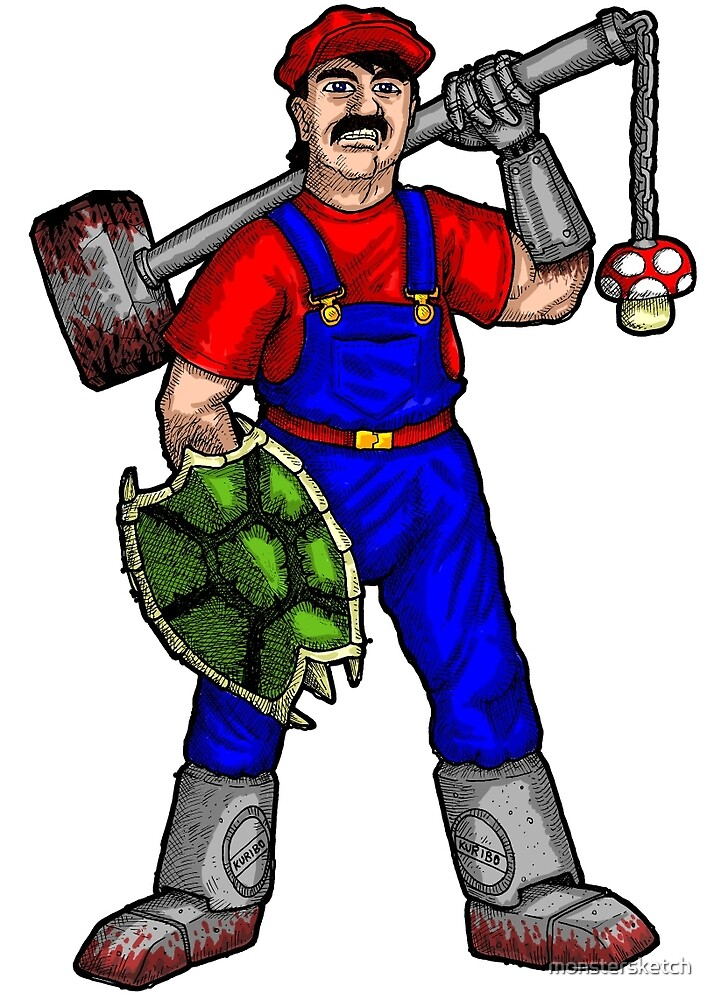 Angry Plumber by monstersketch