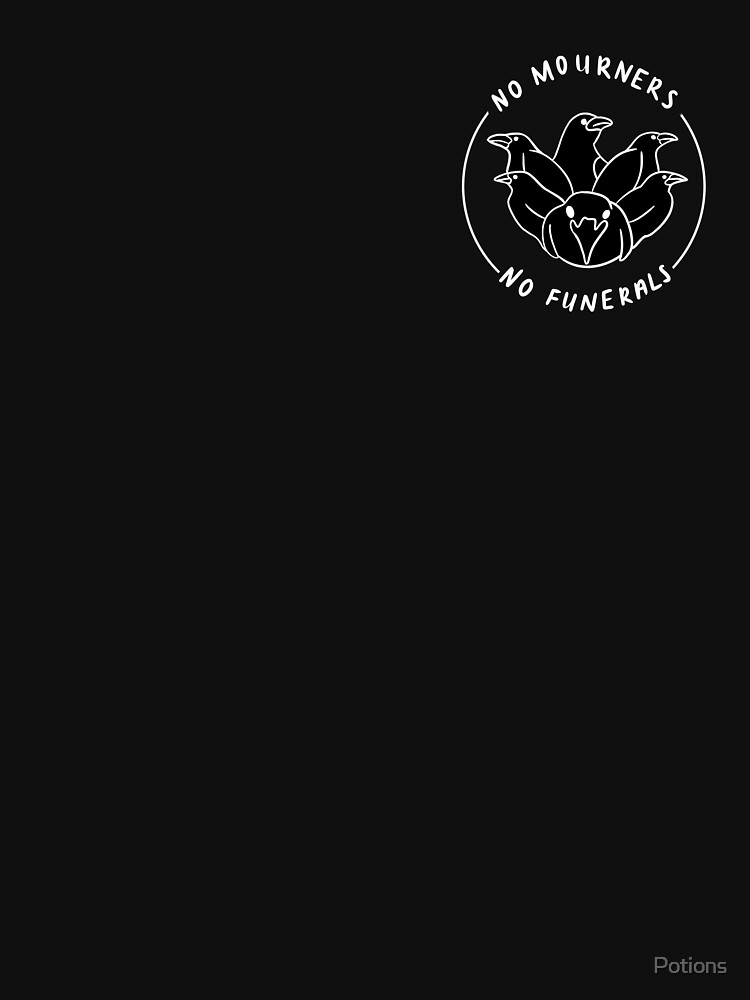 No Mourners No Funerals Design (small) by Potions