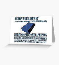 Learn your Dewey 100 Greeting Card