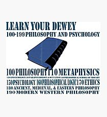 Learn your Dewey 100 Photographic Print