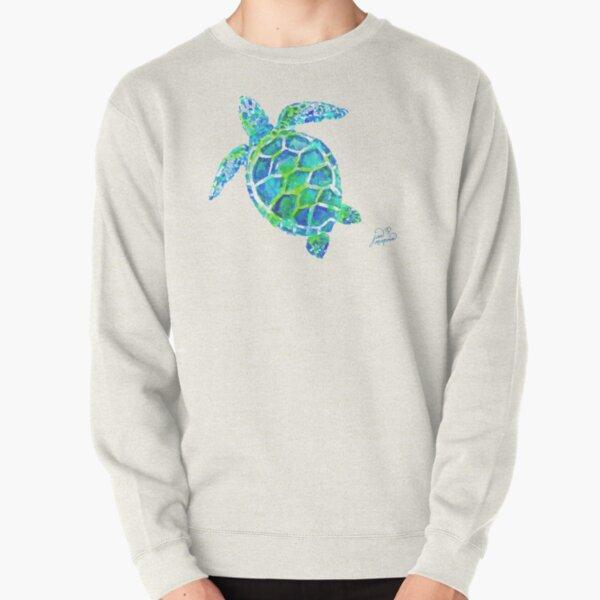 Sea Turtle no splots by Jan Marvin Pullover Sweatshirt
