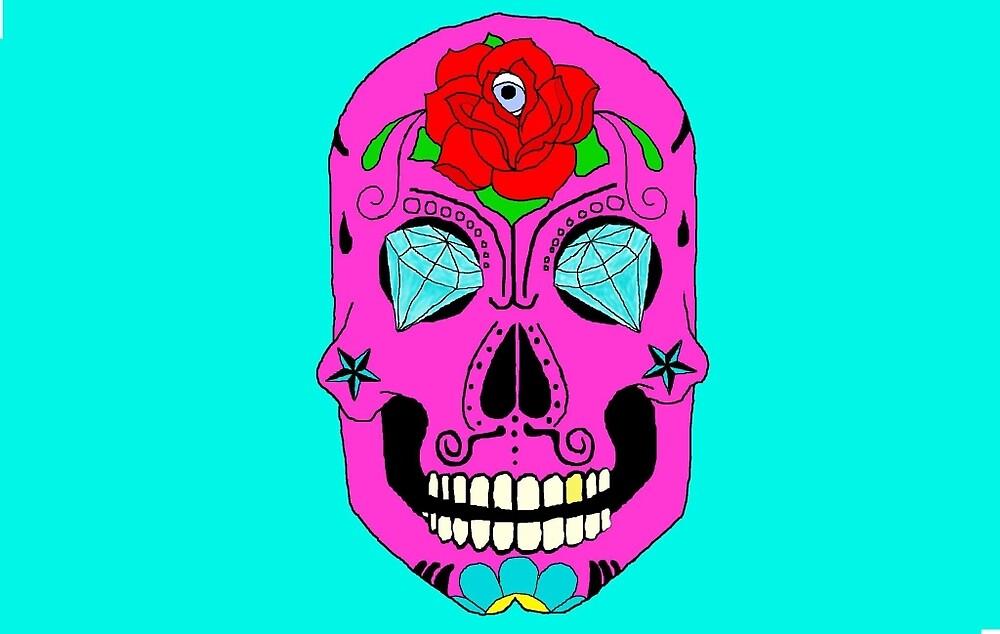 Sugar Skull Bling by Savvytravy
