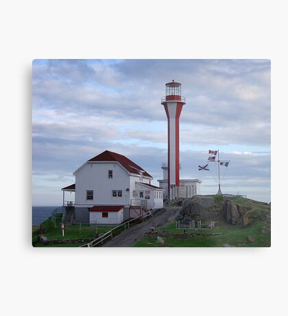 Cape Fourchu Lighthouse Metal Print