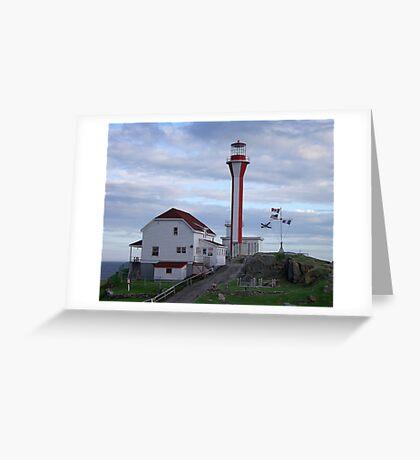 Cape Fourchu Lighthouse Greeting Card
