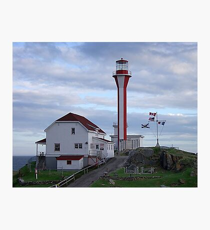Cape Fourchu Lighthouse Photographic Print