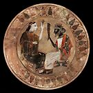Coloured  Archaic Dionysos and Ariadne  by DionysianArtist