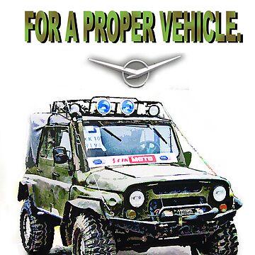 Proper Vehicle by Yanin