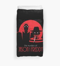 The Murders of Jason and Freddy Duvet Cover