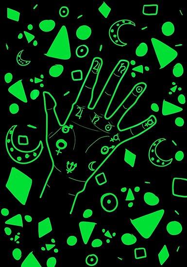 Palmistry- Black & Green by AJWhereArtThou