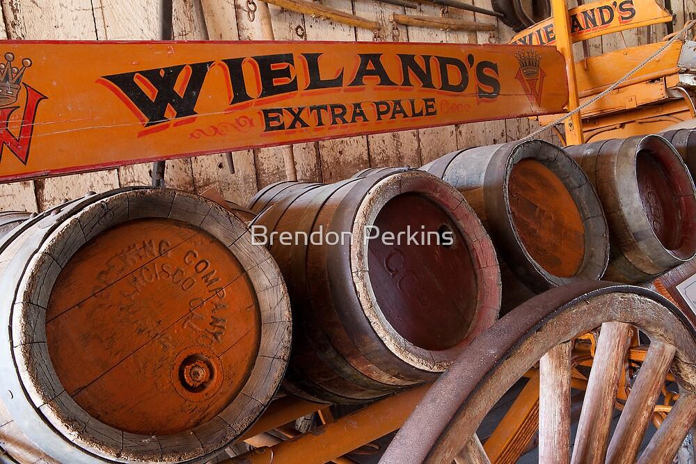 Vintage Beer Wagon by Brendon Perkins