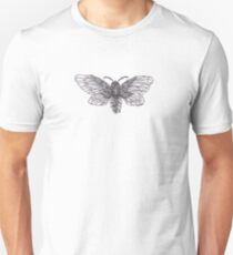 Steampunk Moth Unisex T-Shirt