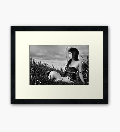 My Sense And Nature #2 Framed Print